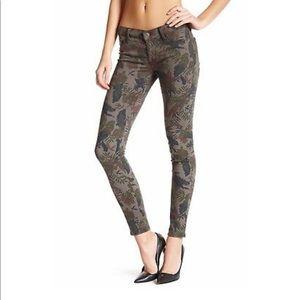 Hudson Krista Super Skinny Jeans Bramble Floral